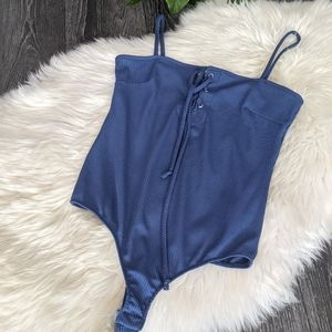 FREE PEOPLE - NWT Ribbed Bodysuit